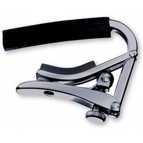 Shubb S1 Deluxe Steel String Guitar Capo Stainless Steel for Acoustic or Electric, Shubb, Haworth Music