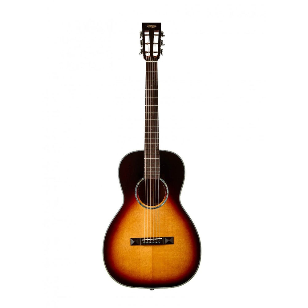 Tasman TA100PE Parlour Acoustic Electric with Hard Case
