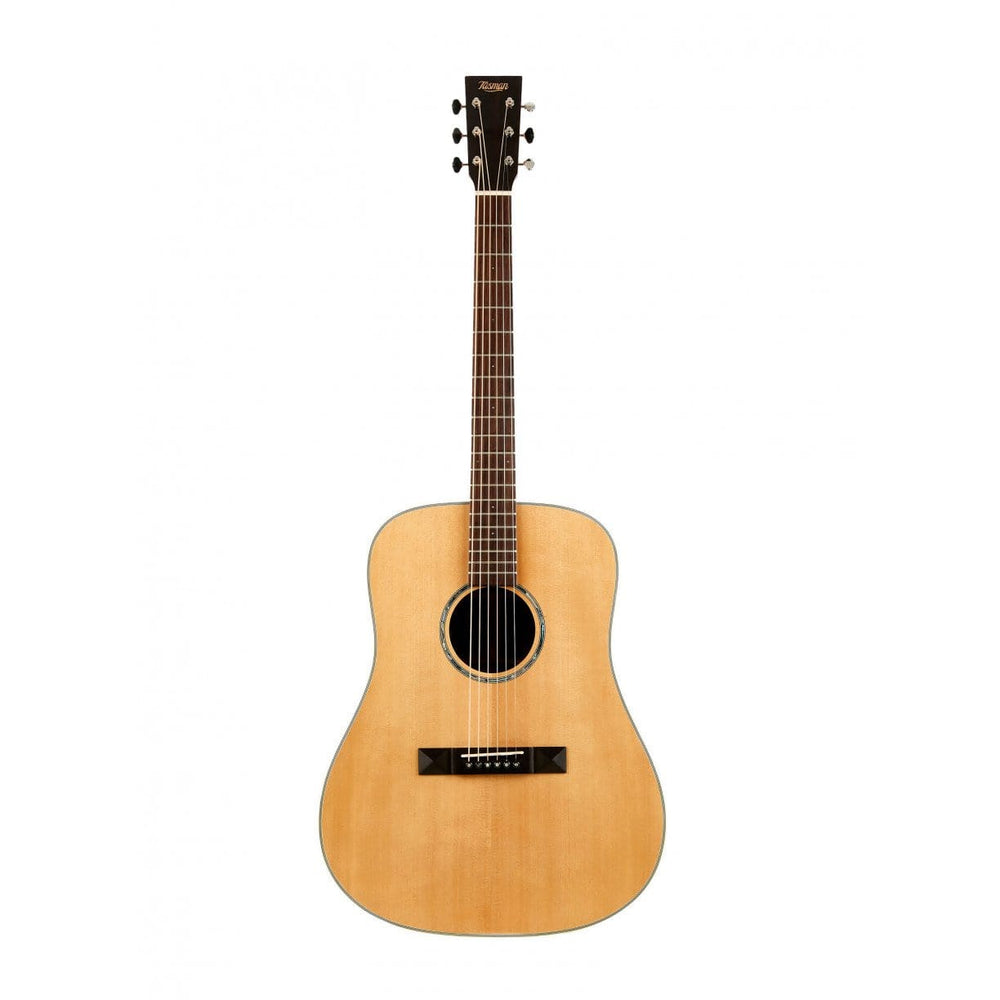 Tasman TA200-E Dreadnought Acoustic Electric with Premium Hard Case