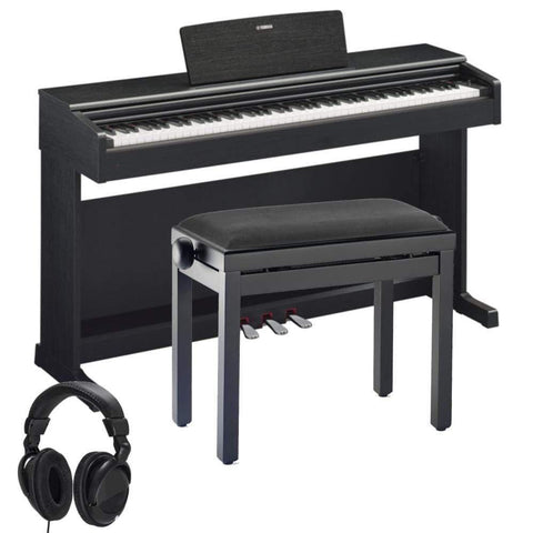 Yamaha Arius YDP144 Digital Piano W/Matching Bench - Black, Yamaha, Haworth Music