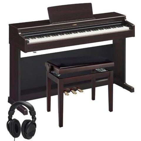 Yamaha Arius YDP164 Digital Piano W/Matching Bench - Rosewood, Yamaha, Haworth Music