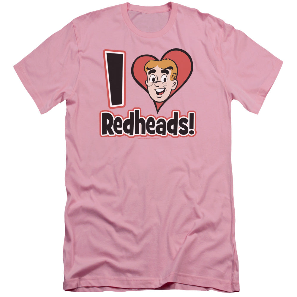 Archie Comics - I Love Redheads Short Sleeve Adult 30/1 - Short Sleeve Adult 30/1 Idiot Box Clothes