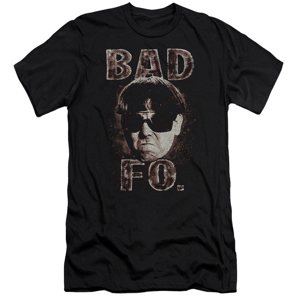 Three Stooges - Bad Moe Fo Short Sleeve Adult 30/1 - Idiot Box Clothes