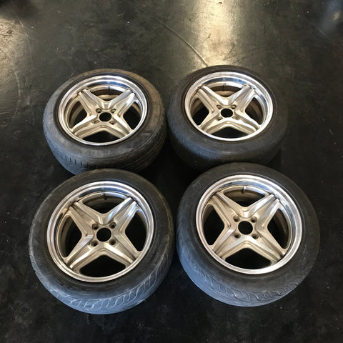 enkei jdm 4x100 big end rodder