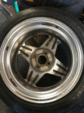 "Enkei Big End Rodders 15"" 4x100 Wheels"