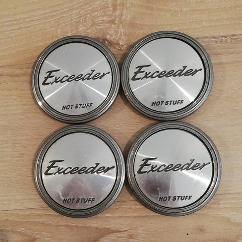 HOT STUFF Exceeder Centre cap set #1 - 57mm