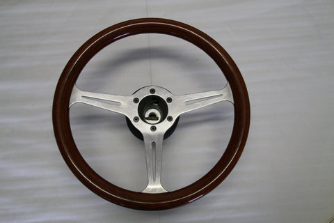 Wood IFRA Steering Wheel