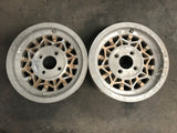 "Yokohama Almex 14"" Pair 4x114.3 Wheels"