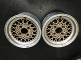 "Weds European 13"" Pair 4x114.3 Wheels"