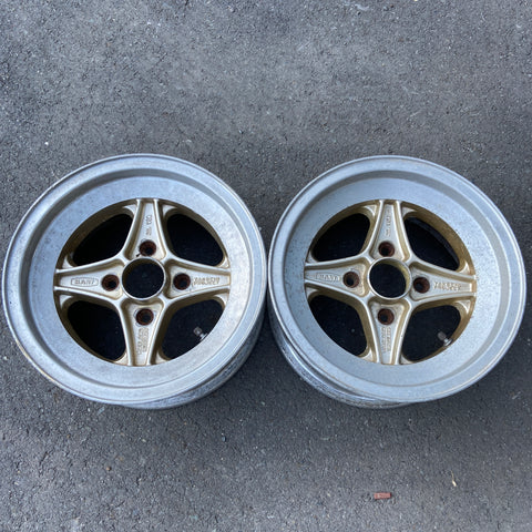 "Takechi Project Racing Hart 14"" Pair 4x114.3 wheels"