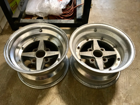 "Work Equip 01 14"" 8.5"" 4x114.3 Pair Wheels"
