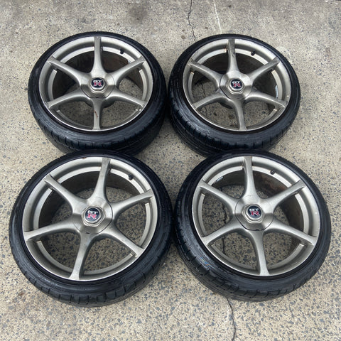 bnr34 gtr wheels for sale