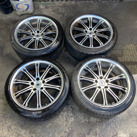 "Work Schwert SC1 19"" 5x114.3 Wheels"