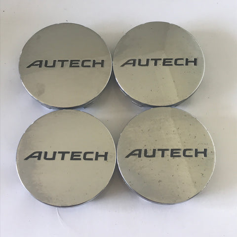 Autech Nissan Centre cap set - 48mm