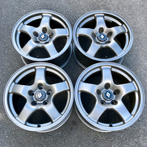 R32 GTR BNR32 OEM Wheel Set 16""