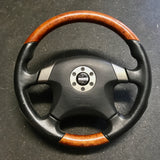 MOMO Nissan Factory Option OEM WOOD GRAIN  Steering Wheel