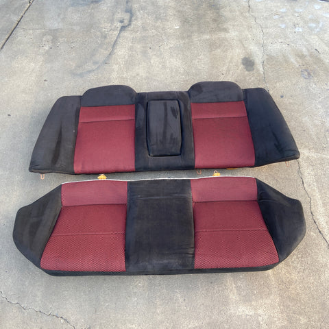 Evo 6.5 TME Tommi Makinen rear seats