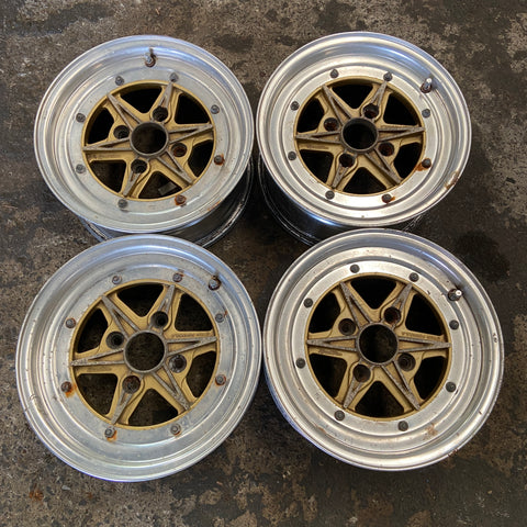"SSR Star Formula 14"" 4x114.3 Wheels"