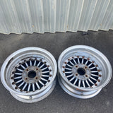 "Rays Volk Fins 15"" 4x114.3 Pair Wheels"