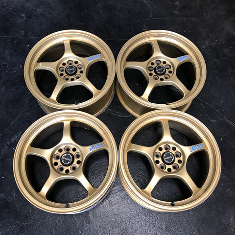 "Rays Gram lights 57c 17"" 5x100 Wheels"