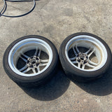 "FORTRAN Asso F1 18"" 5x114.3 Pair of Wheels"