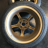 "Rays Gram lights 57c 17"" 5x114.3 Pair Wheels"
