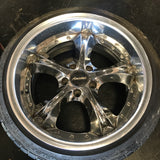 "Amistad Bright 18"" 5x114.3 Wheels"