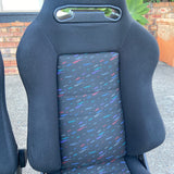 Recaro SR3 Le Mans confetti Pair of Seats