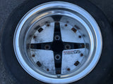"Hoshino Impul G5 13"" 4x110 9j Pair of Wheels"
