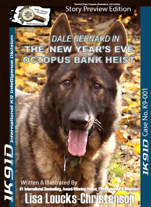 Dale Bernard in the New Year's Eve Octopus Bank Heist, Bow Wow Detectives® | Childhood & Lifetime Books™