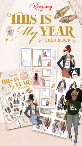 this is my year sticker book