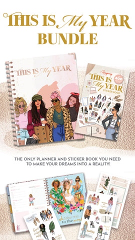 this is my year planner and sticker bundle