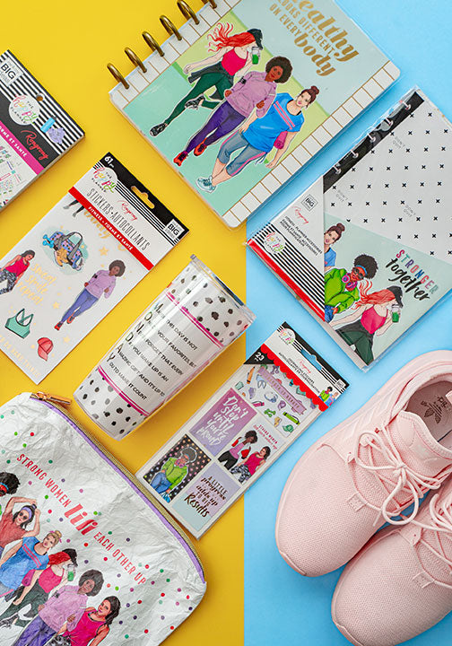 rongrong happy planner fitness collection