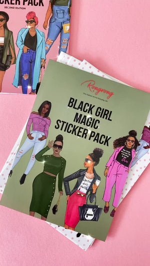 Black Girl Magic Planner Sticker Pack - Second Edition