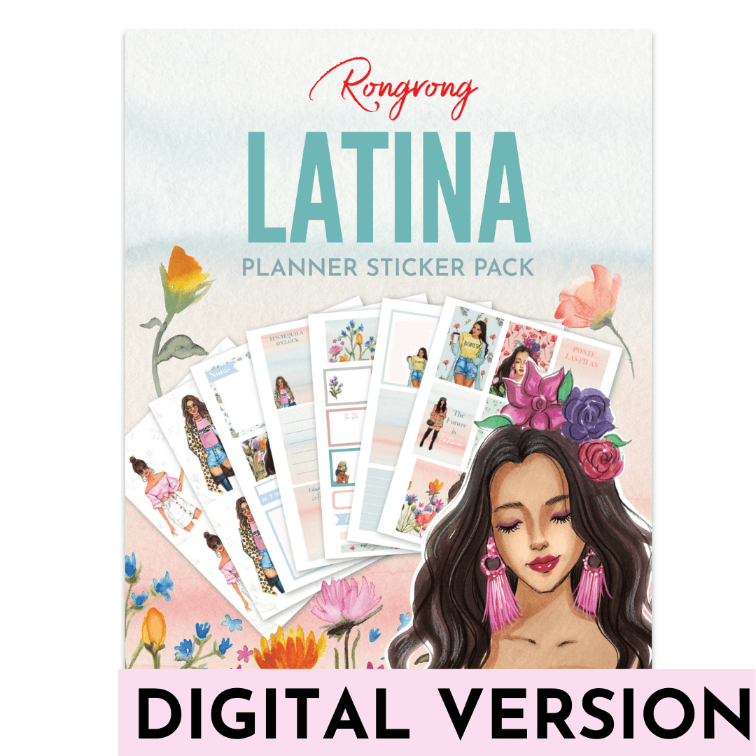 BONITA LATINA Planner Stickers [DOWNLOAD] - Shop Rongrong