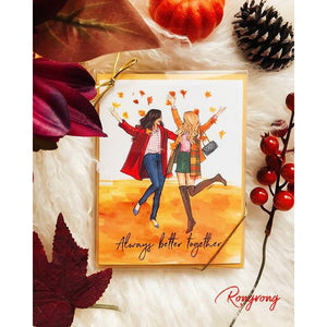 Always Better Together Greeting Cards - Shop Rongrong