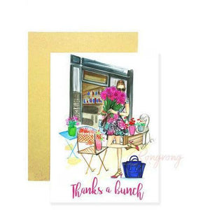 Thanks A Bunch Greeting Cards - Brunette - Shop Rongrong