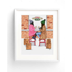 I Only Go to Bloomingdale's With You Art Print