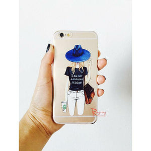 I Am Not A Morning Person Phone Case - Shop Rongrong