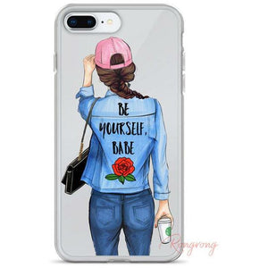 Be Yourself Babe Phone Case - Shop Rongrong