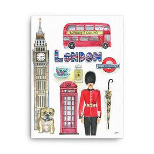 London Is Calling Art Print - Shop Rongrong