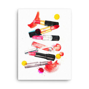 Lipstick Collection Art Print - Shop Rongrong