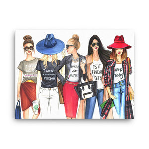 Coffee Fashionistas Art Print - Shop Rongrong