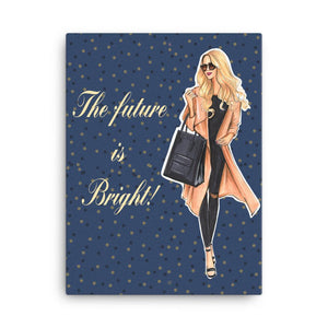 The Future Is Bright Art Print - Shop Rongrong