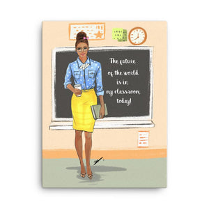 Teacher Art Print - Shop Rongrong