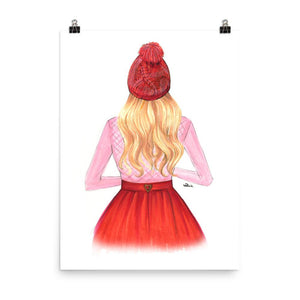 Sweater Weather Art Print - Shop Rongrong