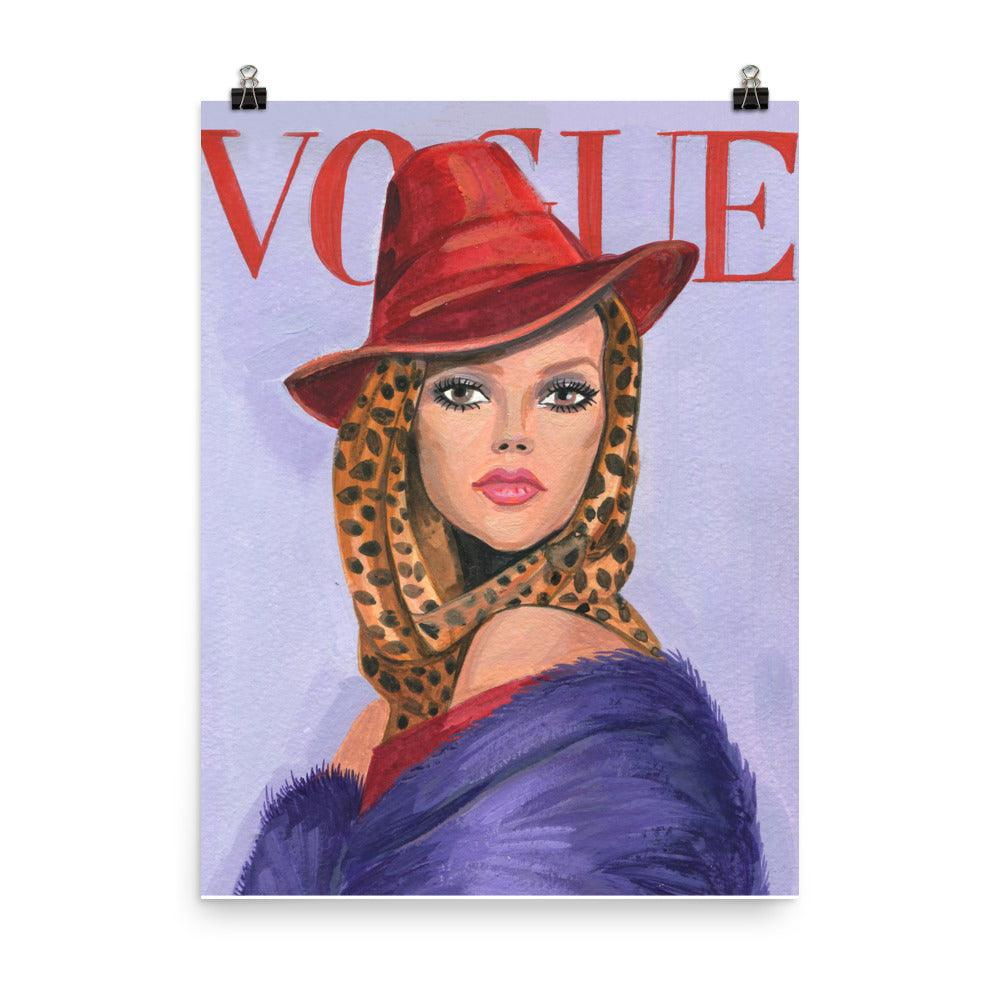 Kate Moss Vintage Vogue Cover - Shop Rongrong