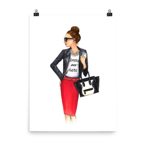 Girl Boss Art Print - Shop Rongrong