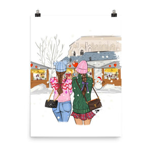 Friendship is a Gift Art Print - Shop Rongrong