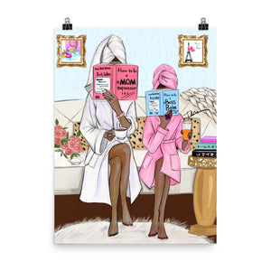 Boss Mom, Boss Babe Art Print - Shop Rongrong